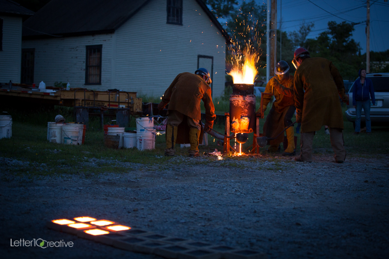 RockFire Event at the Vermont Granite Museum in Barre. Copyright Letter10 Creative